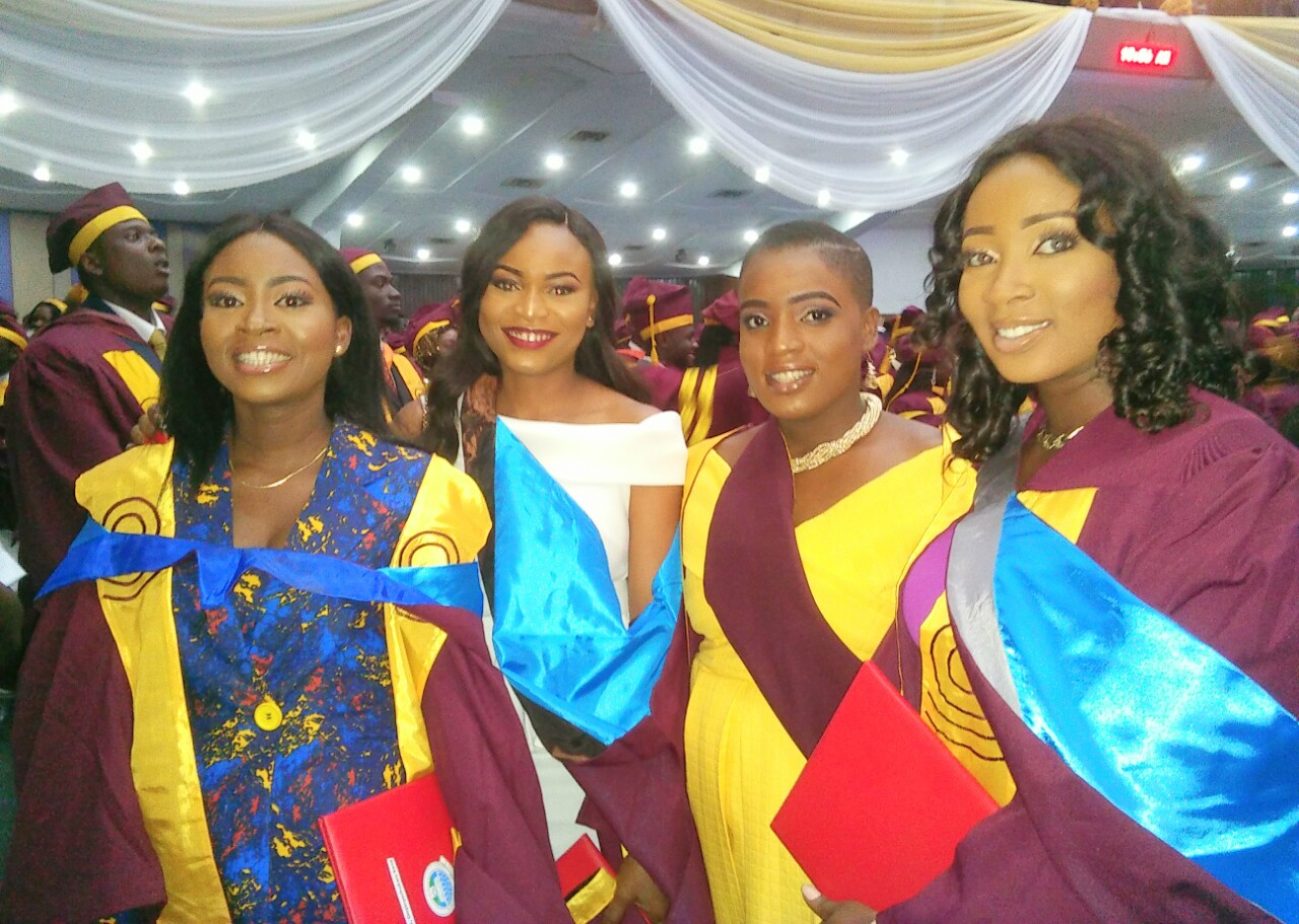 (+GRADUATION PICTURES) UNILAG IS THE BEST SCHOOL SAYS LAGOS STATE GOVERNOR- GOV. AKINWUNMI AMBODE IN HE 49TH CONVOCATION CEREMONY OF HE SCHOOL