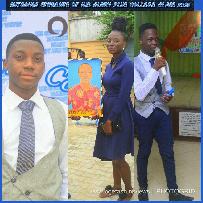 'HIS GLORY PLUS SCHOOLS' HOME AWAY FROM HOME – OUTGOING STUDENTS TESTIFY