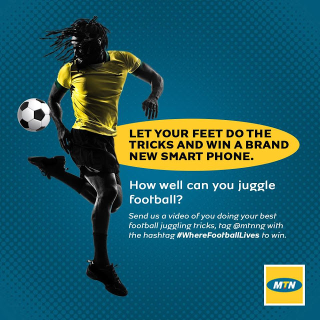 Read more about the article MTN SMART PHONE GIVEAWAY!
