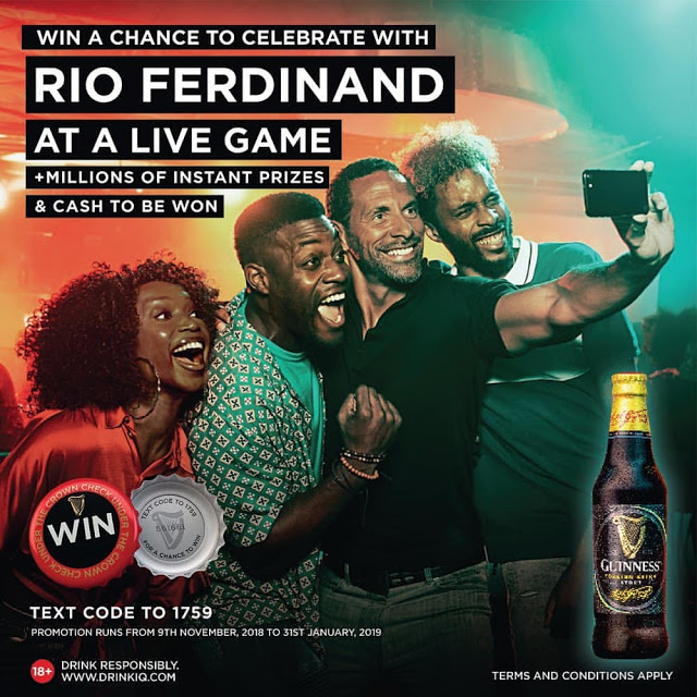Read more about the article WIN AN EXTRAORDINARY EXPERIENCE WITH RIO FERDINAND #GUINNESS