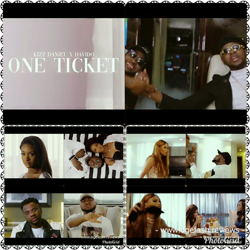"""Read more about the article (+LYRICS) MUSIC REVIEW: ONE TICKET BY KIZZ DANIEL FT DAVIDO """"OMO, THIS VIDEO VIXEN NA MIKE TYSON O!"""""""