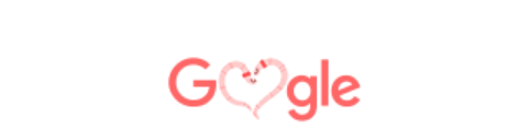 HERE IS HOW GOOGLE IS SAYING HAPPY VALENTINE!