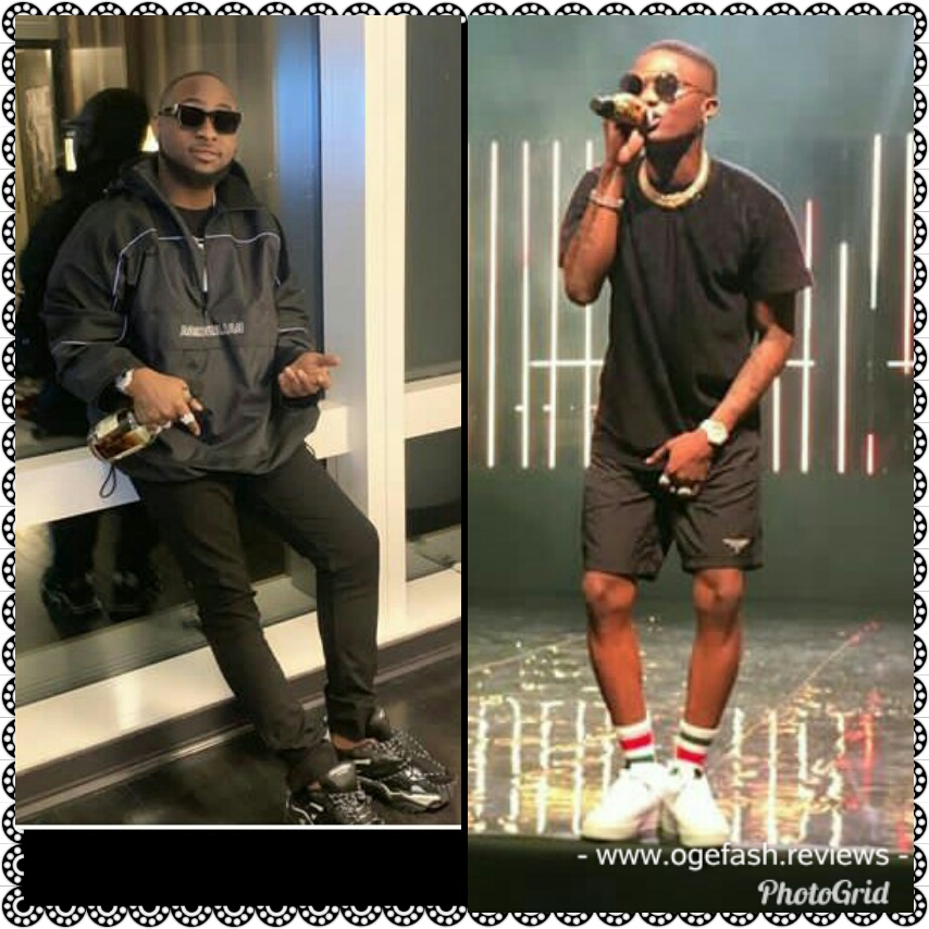 Read more about the article OMG! DAVIDO'S INSTAGRAM FOLLOWERS SURPASSES WIZKID'S BY  TWO MILLION+…