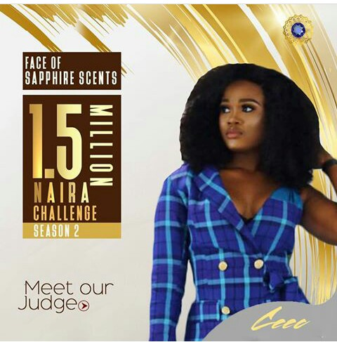 Read more about the article #BBNAIJA CEEC LANDS NEW ENDORSEMENT DEAL; NOW THE NEW FACE OF SAPPHIRE SCENTS…