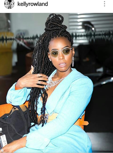 KELLY ROWLAND'S PICTURE CRAZE FOR THE WEEK: Blazing, Weird, Modest or Something else?