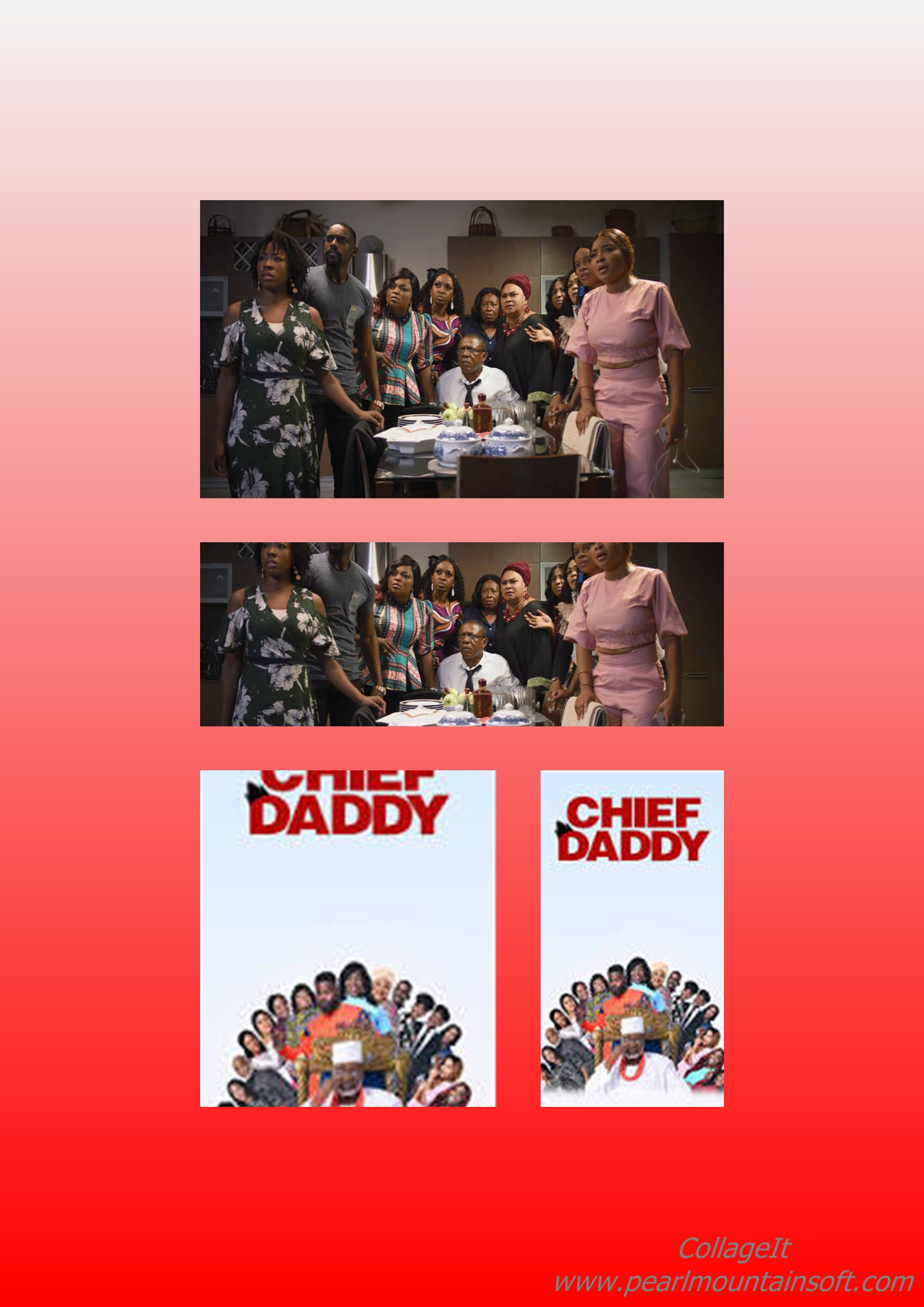 """MOVIE REVIEW: CHIEF DADDY """" A COPIED PLOT FROM YVONNE NELSON AND PASCAL AMANFO'S """"HOUSE OF GOLD"""""""
