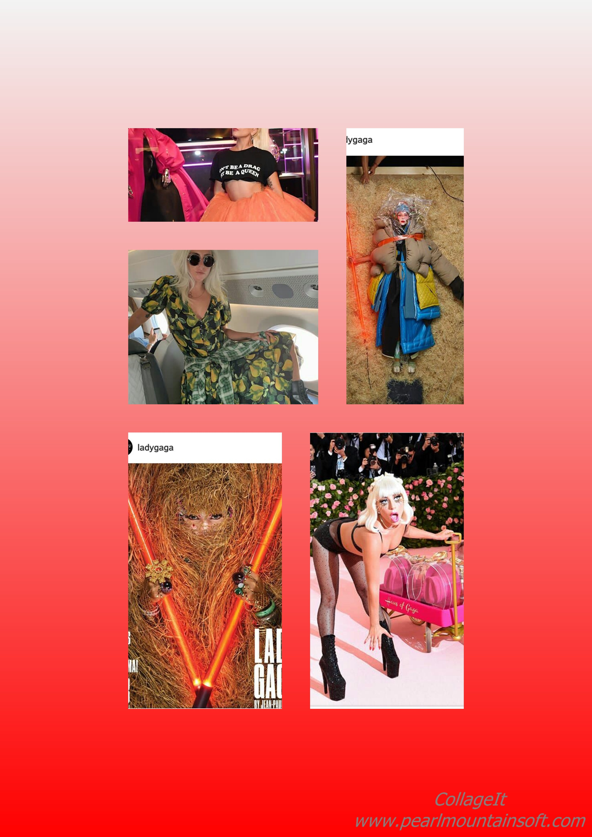 You are currently viewing LADY GAGA'S PICTURE CRAZE FOR THE WEEK: Blazing, Sexy, Weird, Modest or Something else?