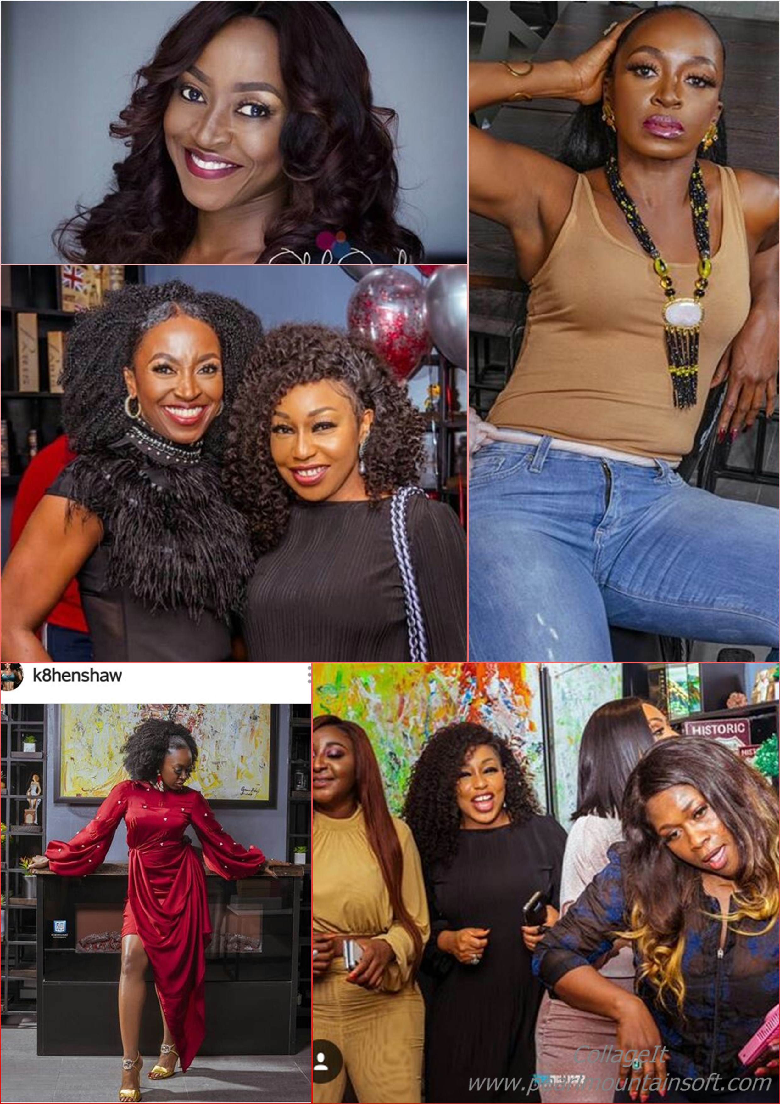 NOLLYWOOD ACTRESS- KATE HENSHAW RELEASES MORE PICTURES FROM HER 48TH BIRTHDAY PARTY!