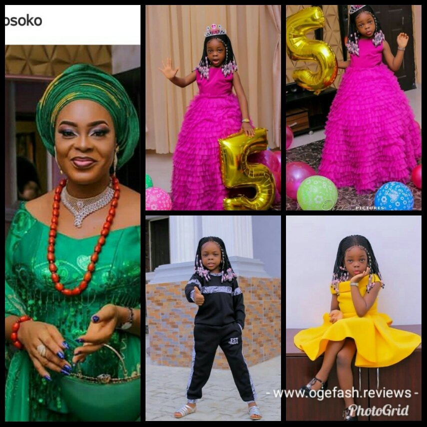 Read more about the article SOLA KOSOKO BOUGHT A 55,000 NAIRA WIG FOR HER CHILD'S 5TH BIRTHDAY