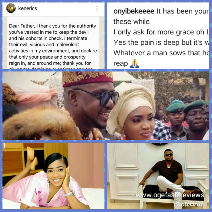 HUSBAND~ KEN ERICS AND WIFE~ONYI ADABA USE PRAYERS TO ATTACK EACH OTHER