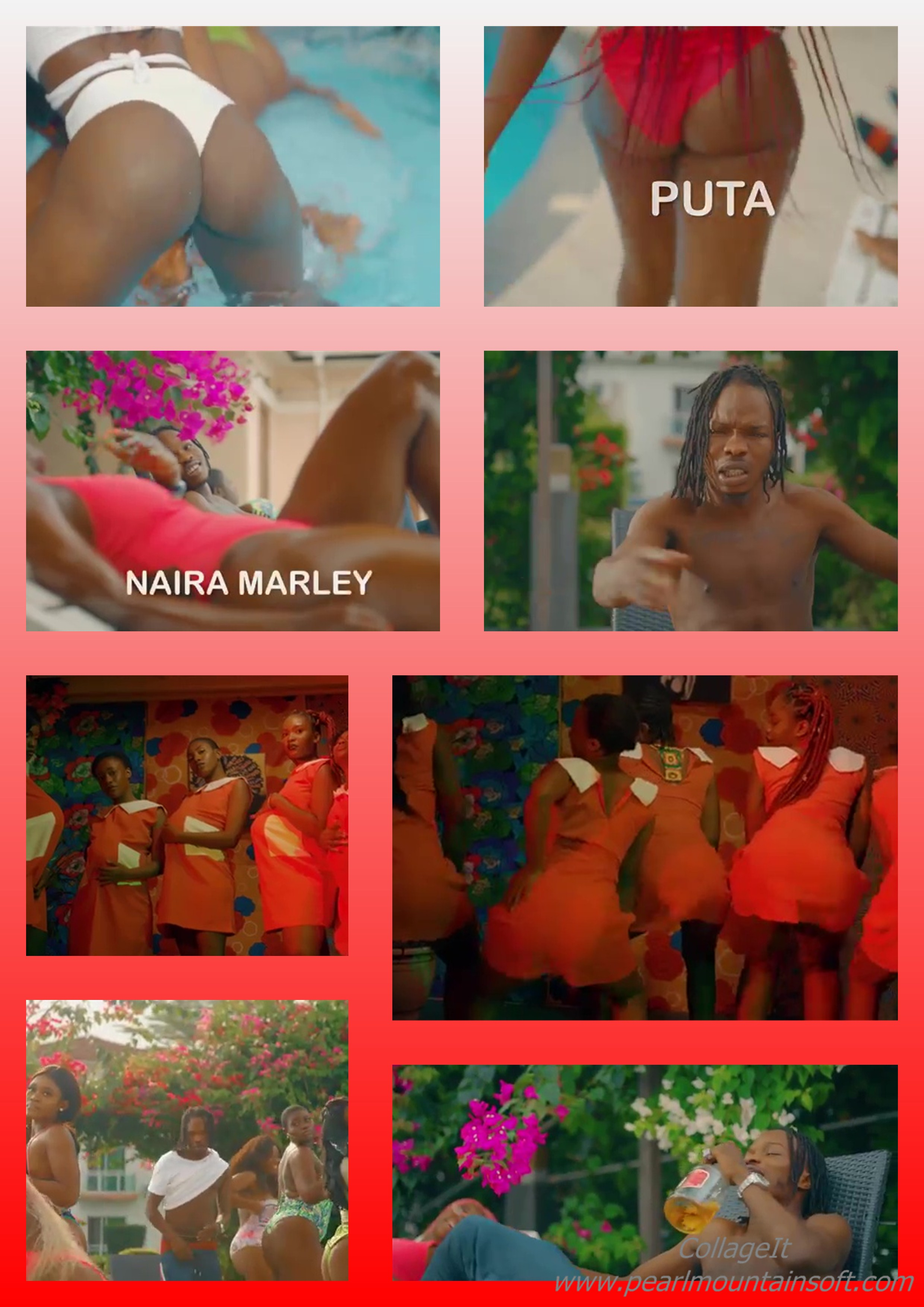"""(+LYRICS+TRANSLATION+MEANING) MUSIC REVIEW: PUTA BY NAIRA MARLEY """"THIS PUTA SONG MEANS GIRLS ARE PROSTITUTES"""" +THIS IS AN """"IDI"""" AS IN """"ASS"""" DISPLAY VIDEO"""