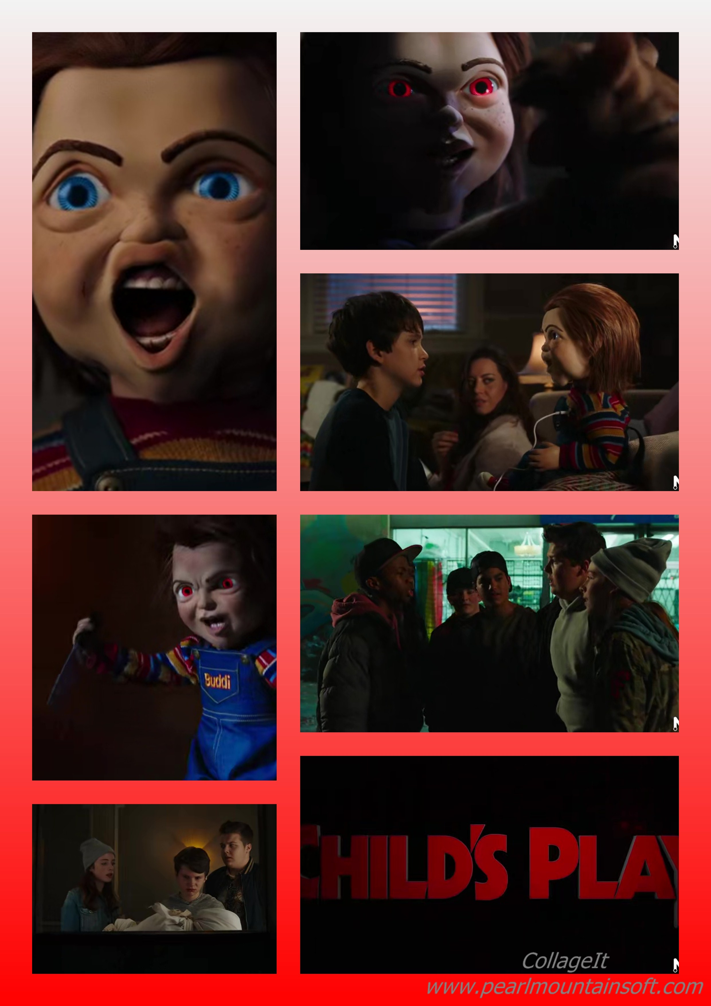 """SYNOPSIS TO THE MOVIE """"CHILD'S PLAY"""""""