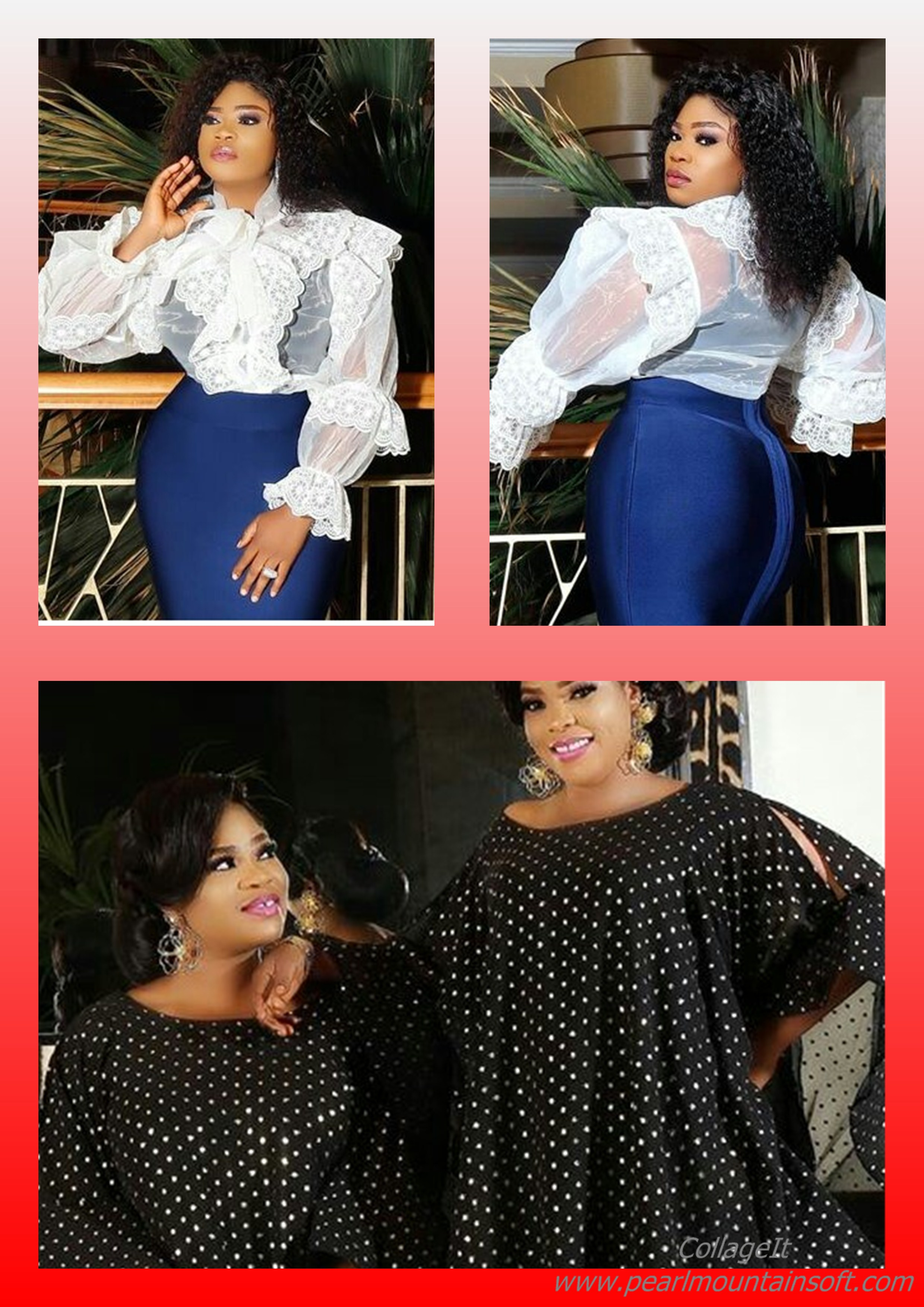 CAN YOU TELL WHICH OF THEM IS ENIOLA AJAO AND WHICH IS HER TWIN?