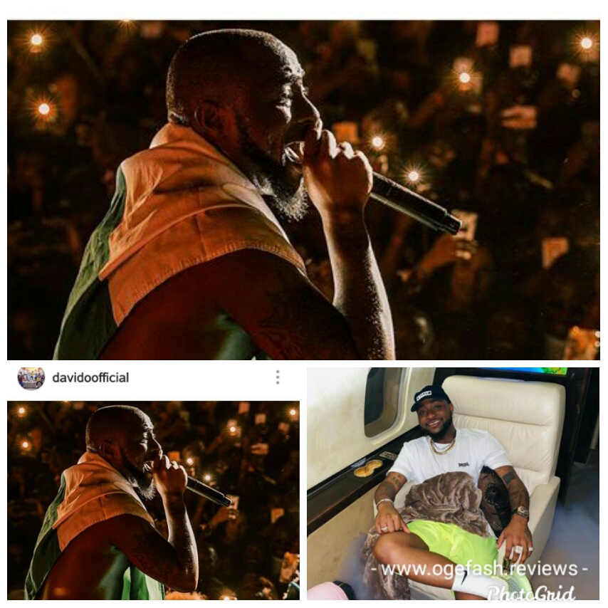 DAVIDO SHARES TO THE WORLD TONS OF HIS UPCOMING SHOWS IN NORTH AMERICA THIS 2020!