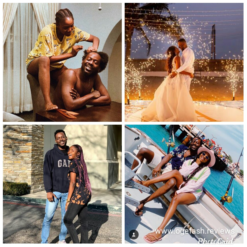 Read more about the article HERE IS SIMI'S 356~ WORDS EPISTLE TO ADEKUNLE GOLD, AND ADEKUNLE GOLD'S 66 WORDS EPISTLE TO SIMI ON THEIR 1ST WEDDING ANNIVERSARY!