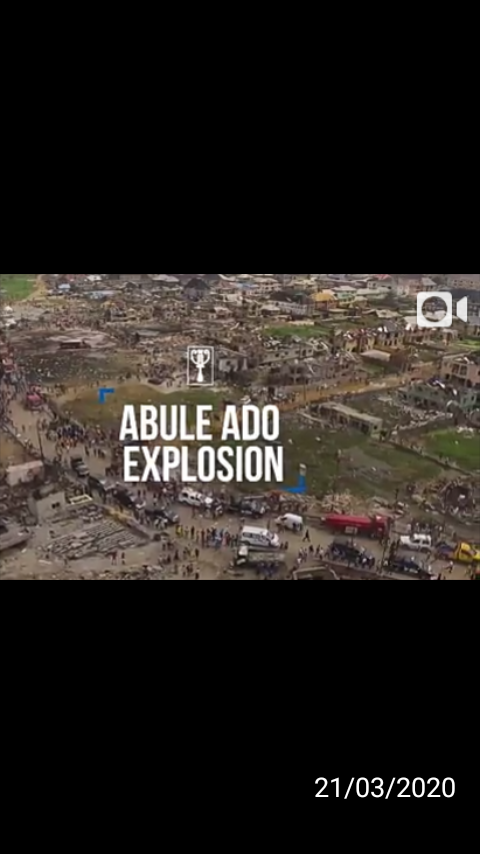 "RECOUNTING THE LOSSES AT THE AMUWO-ODOFIN FESTAC TOWN EXPLOSION  A WEEK AFTER ""GAS OR BOMB EXPLOSION?"""
