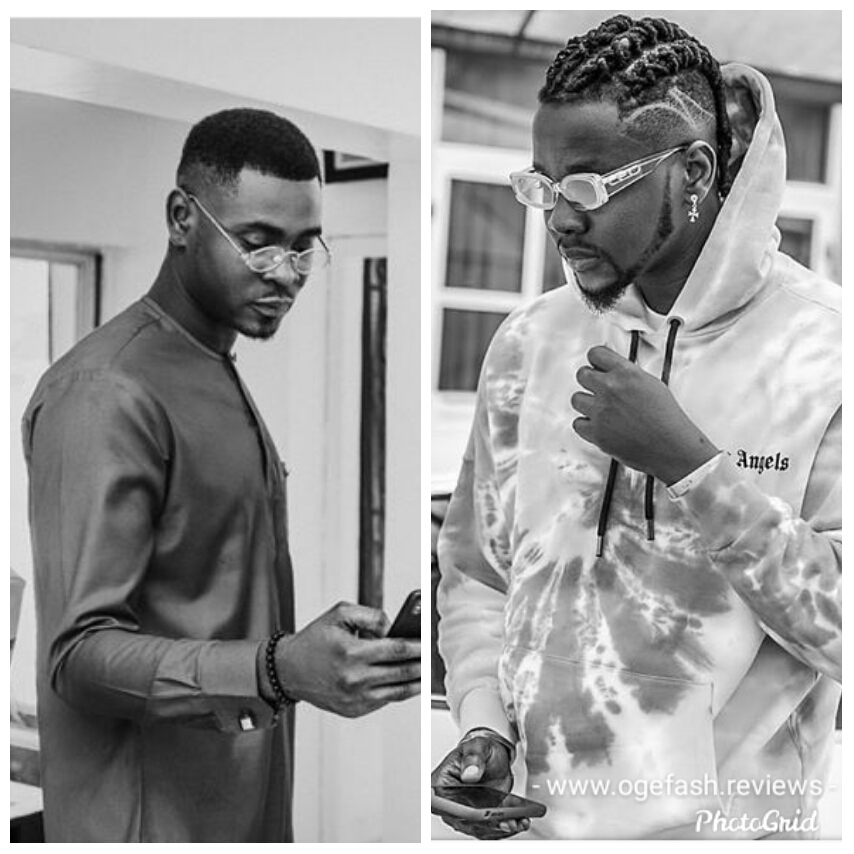 KIZZ DANIEL AND BROTHER UTHMAN ANIDUGBE REMEMBER LATE DAD WITH  BEAUTIFUL ARTWORK…