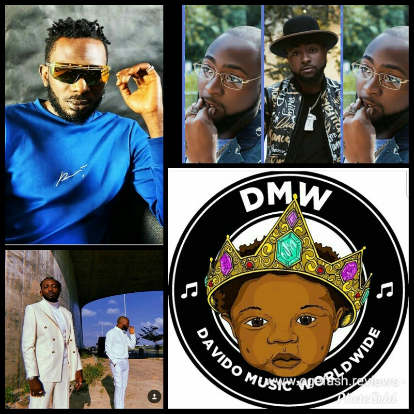"""MR MAY D JOINS DAVIDO'S 'DMW RECORD' """"HE SHOULDN'T DISORGANIZE AND BABEJE O WITH HIS…"""""""