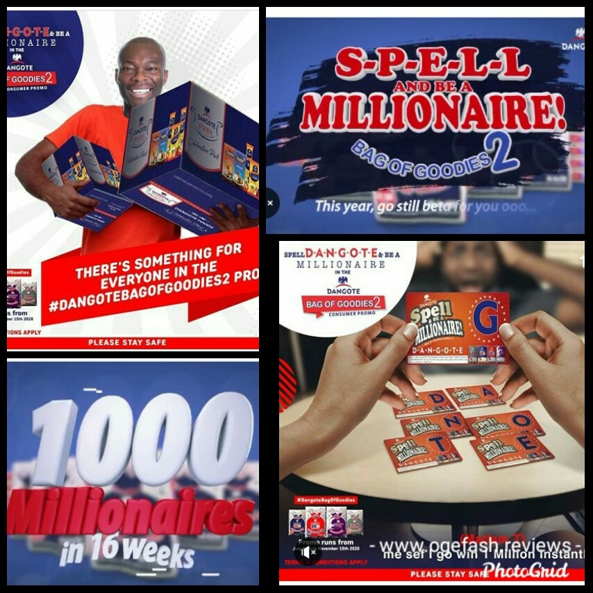 D-A-N-G-O-T-E SPELL AND WIN 1 MILLION NAIRA PROMO; HERE IS HOW TO WIN!